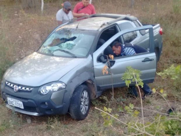 Acidente aconteceu na AL-220 (Foto: Divulgação/Corpo de Bombeiros)