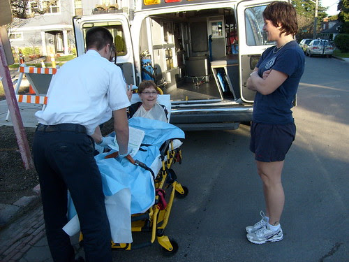 Sara's ambulance ride