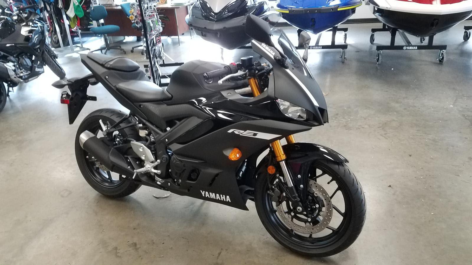 2019 Yamaha Yzf R3 Black