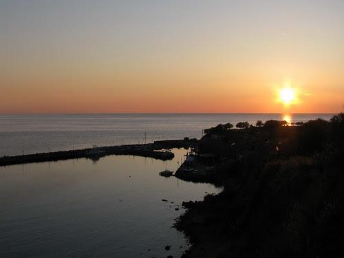 Sunset at Molivos