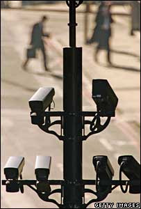 CCTV cameras in London, Getty