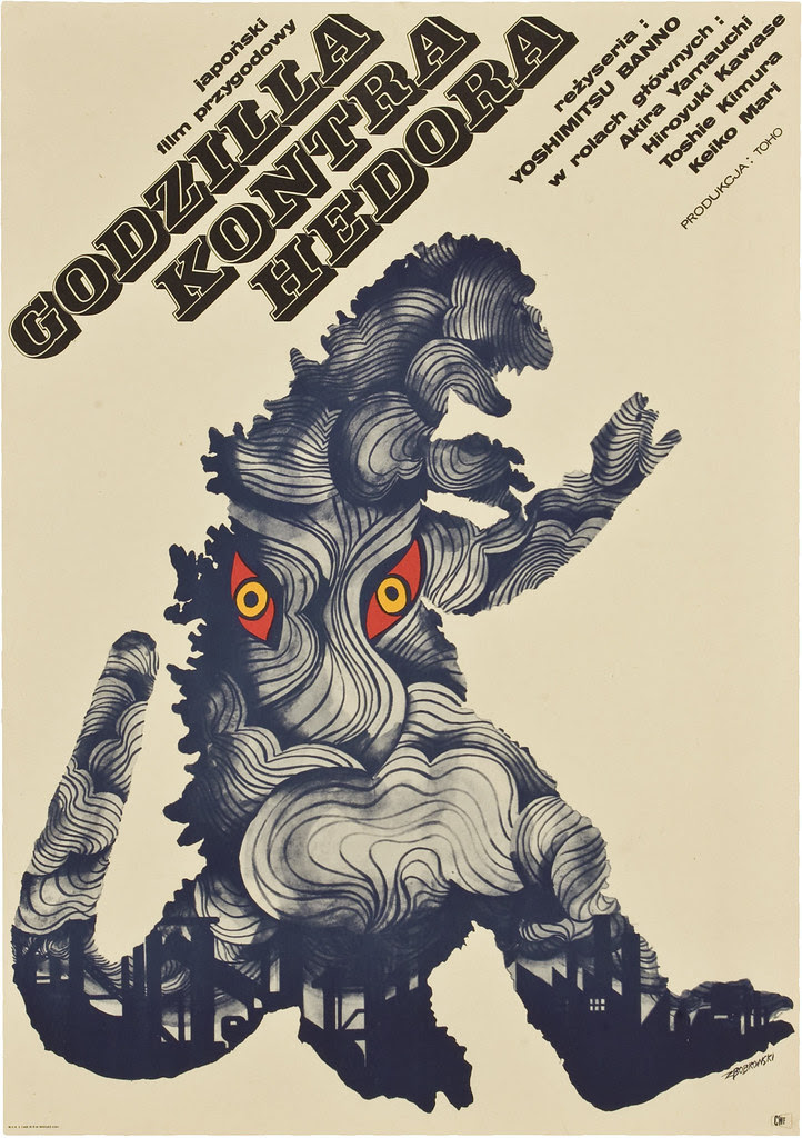 Godzilla vs. the Smog Monster (Toho, 1971) Polish