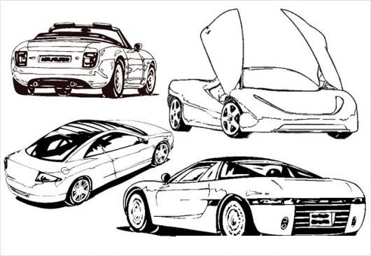 Carros Deportivos Para Colorear Colorear Dibujos De Cholo Carros