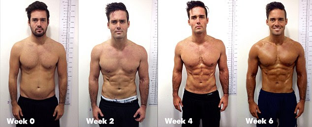 ideal body fat percentage to look ripped