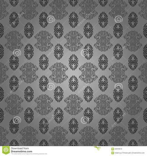 Wallpaper Batik Modern Stock Illustration   Image: 62819570