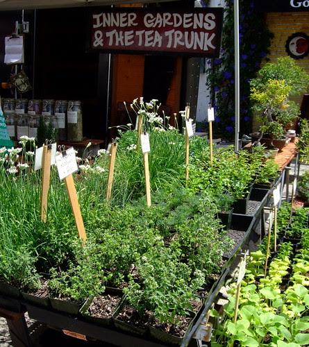 Inner Gardens herb seller