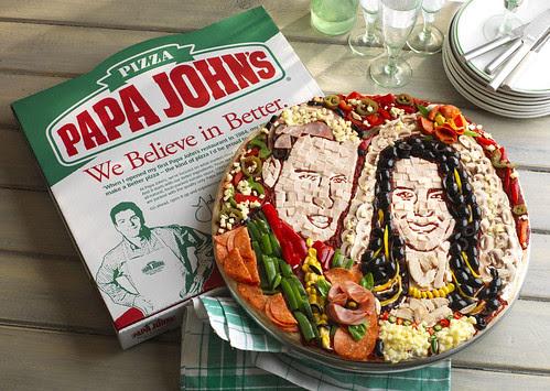 royal wedding pizza