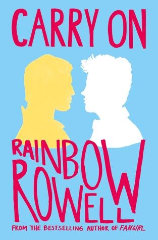 Znalezione obrazy dla zapytania carry on rainbow rowell