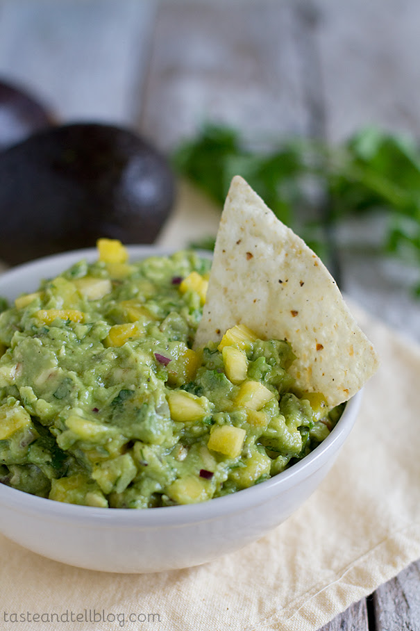 Tropical Guacamole | Taste and Tell