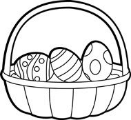 Easter Egg Clipart Black And White Clipart Panda Free Clipart Images