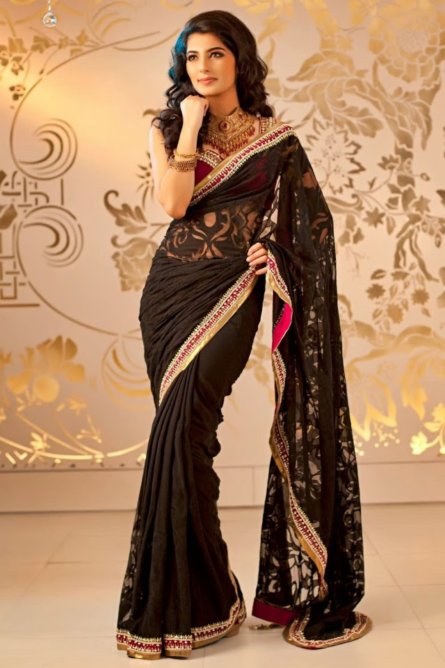 Bridal-Wedding-Formal-Casual-Party-Wear-Sarees-Dress-New-Fashion-Sari-for-Brides-by-Designer-Satya-Paul-2