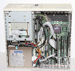 Inside the case of this Computer