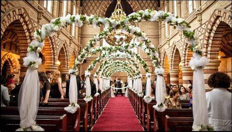 Church Wedding Decor Ideas