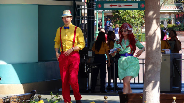 Disney California Adventure, Buena Vista Street, Dapper Day