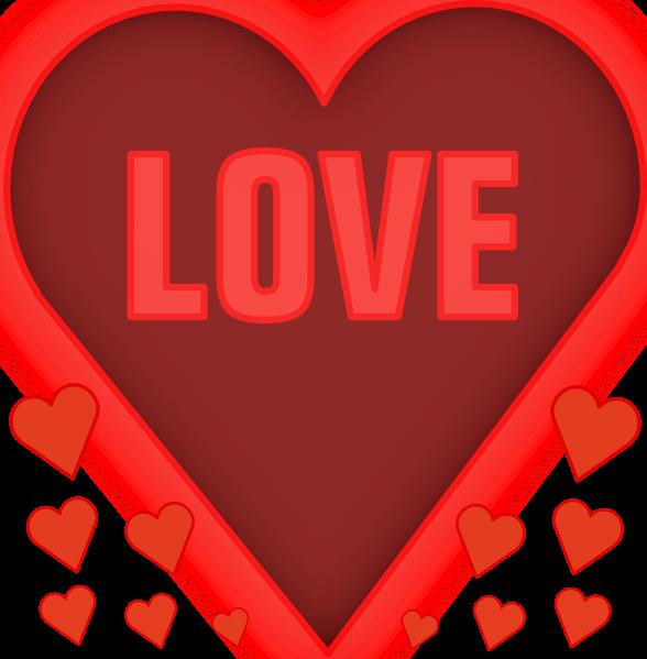 pink heart clip art free. Love In A Heart clip art