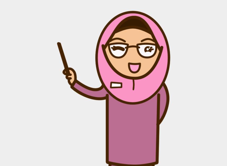 Gambar Kartun Guru Perempuan