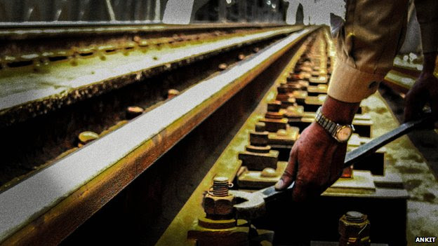 Indian Railway's 'track custodians' inspect every inch of the network's lines
