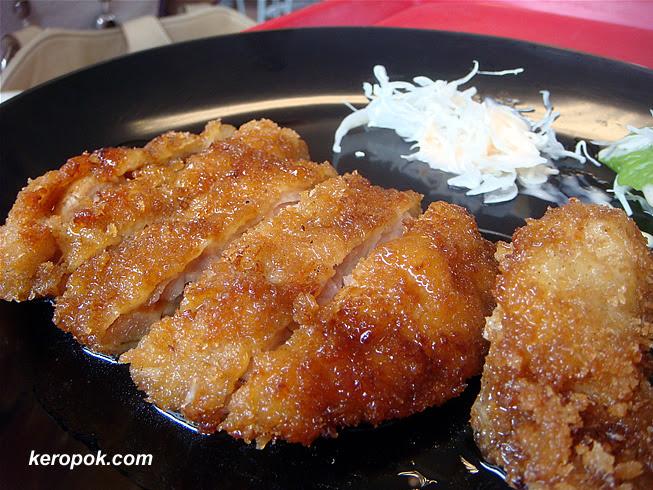 Saba and Teriyaki Chicken Set