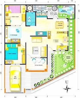 Desain Sketsa Rumah Mewah