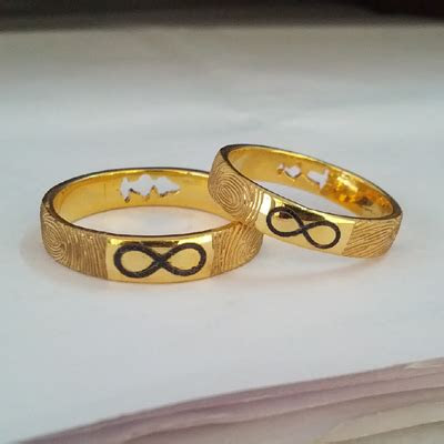 infinity couple rings gold designs