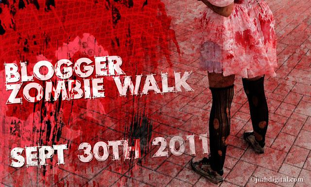 blog lovelymissmegs megan blogger zombie walk