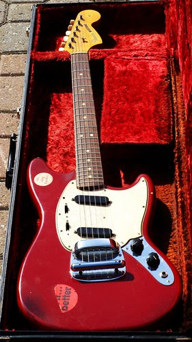 My 45 Year Old Fender Mustang