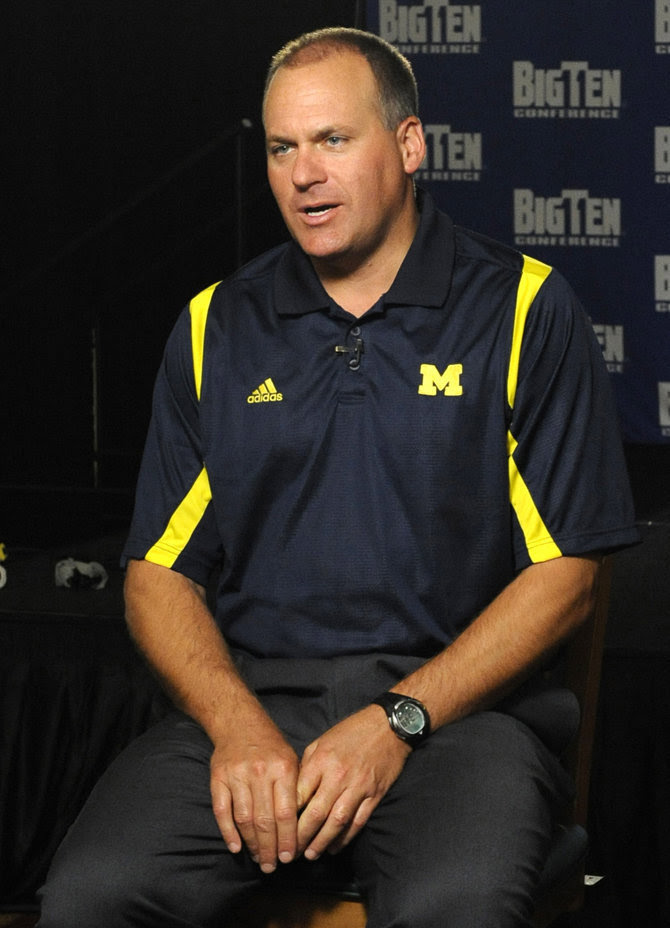 Rich Rodriguez, former Michigan coach, donates his Wolverines apparel to Salvation Army ...