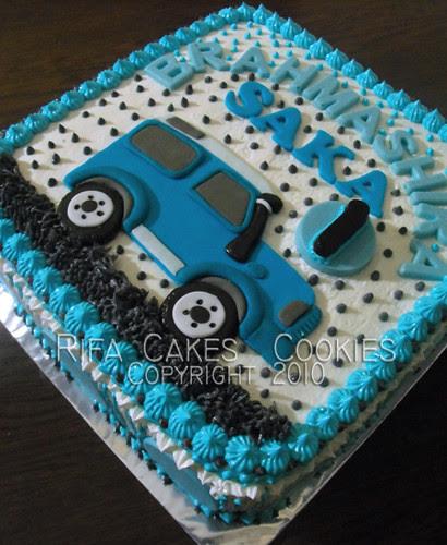 Land Rover 2D Cake