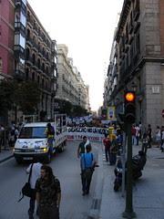 Foto de control en Atocha