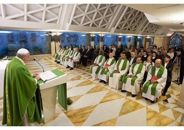Francisco destaca que cristãos vaidosos são como bolhas de sabão: belas apenas por alguns segundos / Foto: L'Osservatore Romano