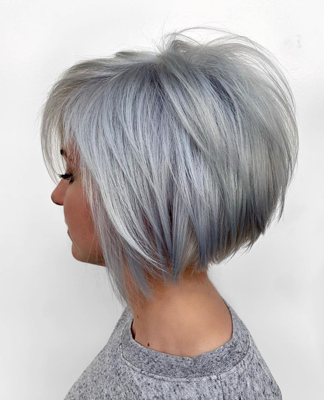 10 Short Bob Hair Color Ideas - Women Short Hair Styles Color 2020 - 2021