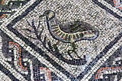 Aquileia Basilica - Mosaik 7 Rebhuhn
