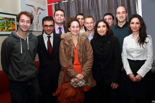"""Réunion du 29 janvier 2013 sur l'entrepreneuriat organisé par le Club """"Courbevoie 3.0"""" (fondé par Arash Derambarsh) by Arash Derambarsh"""