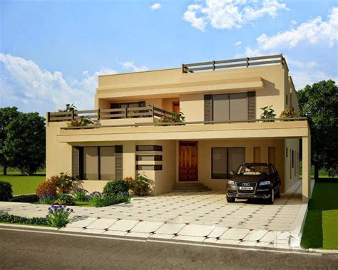elevation  pakistani house beautiful houses pictures