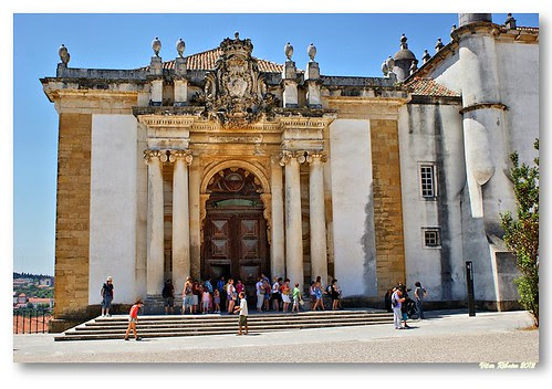 Portal da Biblioteca Joanina by VRfoto