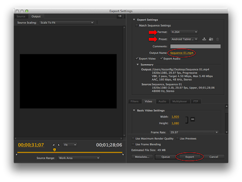 How To Export Video From Premiere