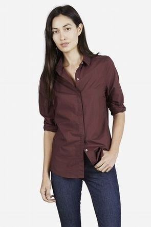 Everlane Poplin Long Sleeve Shirt