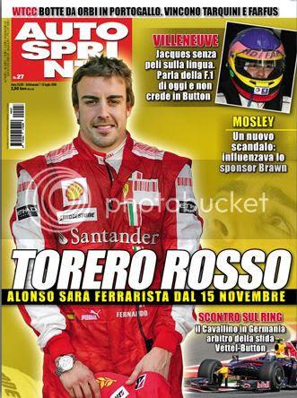 Alonso a Ferrari?
