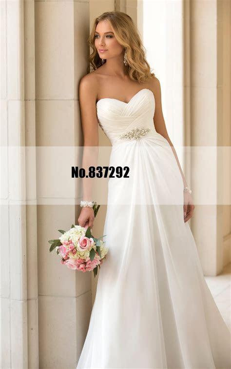 Cheap Wedding Dress Under 50 Simple Cascading Flattering