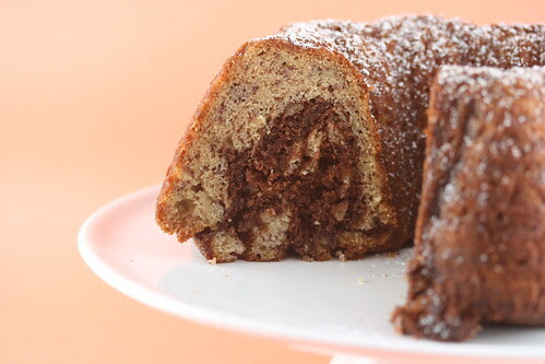 Banana Nutella Bundt - I Like Big Bundts