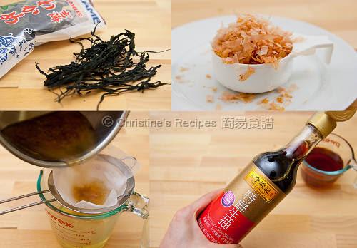 日式金菇清蒸豆腐製作圖 Steamed Tofu with Enokitake and Soy Sauce Procedures