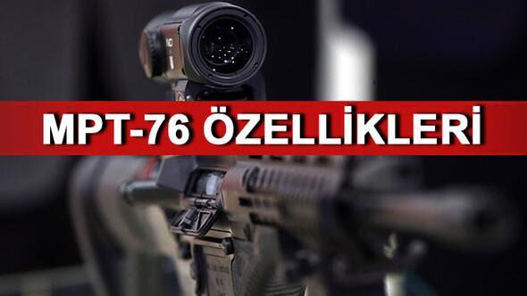 Milli Piyade Tüfeği (MPT-76) envantere girdi MPT-76nın özellikleri nelerdir