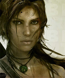 The New Lara Croft, courtesy of Game Informer