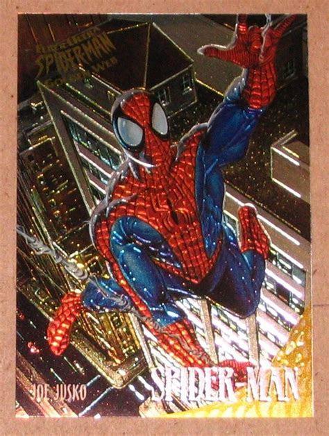 Spider Man, Fleer Ultra (1995) Golden Web Card #7  Spider