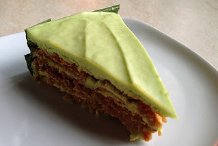Manila - Echocafe pandan cake