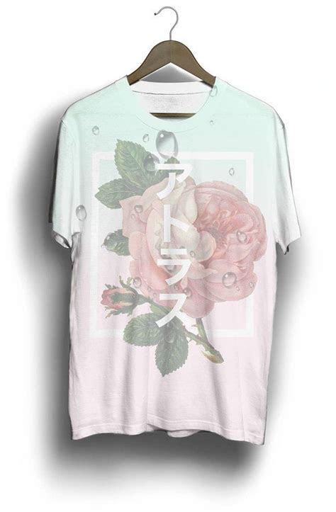 japaneserose tee shirt aesthetic tee japanese shirt
