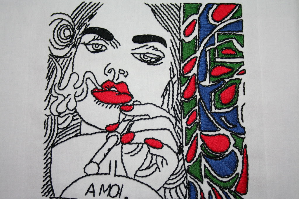erro embroidery