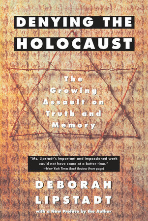 The cover of the book Denying the Holocaust