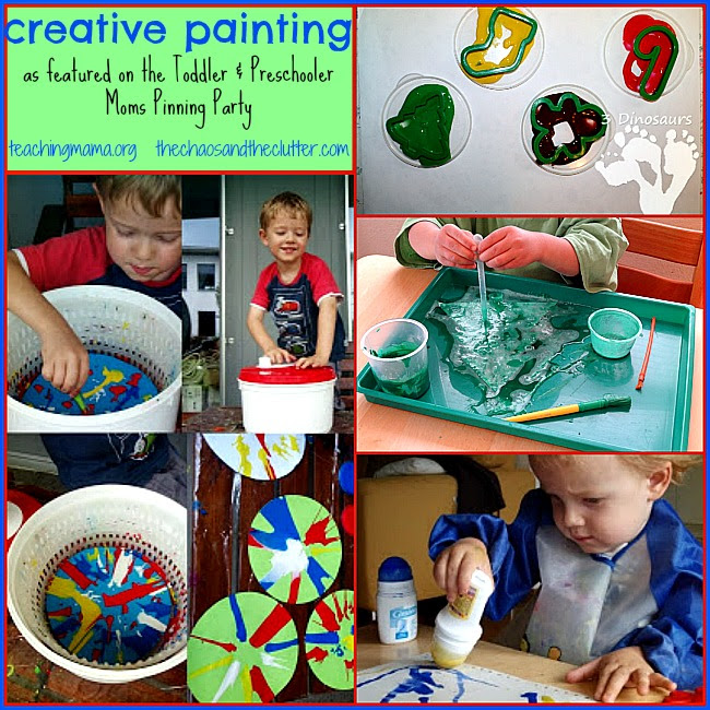 Creative Painting Ideas & Pinning Party #17 - Teaching Mama