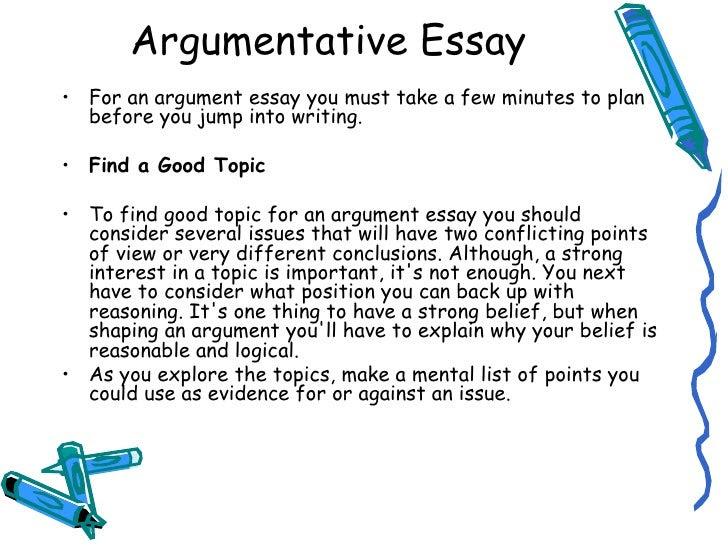 conclusion to an argumentative essay example
